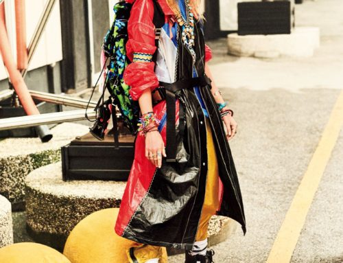 STELLA MAXWELL FOR VOGUE JAPAN